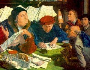Marinus Van Reymerswaele, i prestatori di danaro