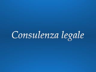 pareri e consulenze